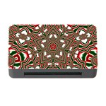 Christmas Kaleidoscope Memory Card Reader with CF Front
