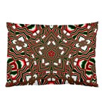 Christmas Kaleidoscope Pillow Case (Two Sides) Back
