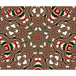 Christmas Kaleidoscope Deluxe Canvas 14  x 11  14  x 11  x 1.5  Stretched Canvas