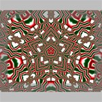 Christmas Kaleidoscope Deluxe Canvas 16  x 12   16  x 12  x 1.5  Stretched Canvas