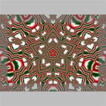 Christmas Kaleidoscope Deluxe Canvas 18  x 12   18  x 12  x 1.5  Stretched Canvas