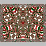 Christmas Kaleidoscope Deluxe Canvas 20  x 16   20  x 16  x 1.5  Stretched Canvas