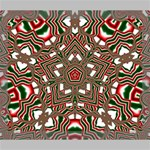 Christmas Kaleidoscope Deluxe Canvas 24  x 20   24  x 20  x 1.5  Stretched Canvas