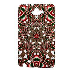 Christmas Kaleidoscope Samsung Galaxy Note 1 Hardshell Case