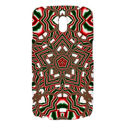 Christmas Kaleidoscope Samsung Galaxy Nexus i9250 Hardshell Case