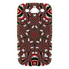 Christmas Kaleidoscope Samsung Galaxy S III Hardshell Case