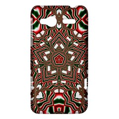 Christmas Kaleidoscope HTC Radar Hardshell Case