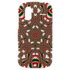 Christmas Kaleidoscope HTC Amaze 4G Hardshell Case