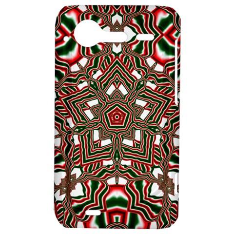 Christmas Kaleidoscope HTC Incredible S Hardshell Case