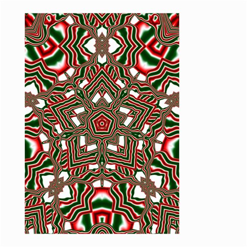 Christmas Kaleidoscope Large Garden Flag (Two Sides)