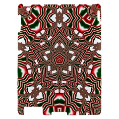 Christmas Kaleidoscope Apple iPad 2 Hardshell Case