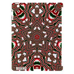 Christmas Kaleidoscope Apple iPad 3/4 Hardshell Case (Compatible with Smart Cover)