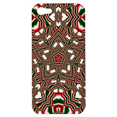 Christmas Kaleidoscope Apple iPhone 5 Hardshell Case