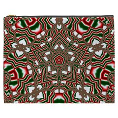 Christmas Kaleidoscope Cosmetic Bag (XXXL)