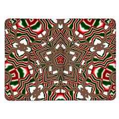 Christmas Kaleidoscope Kindle Fire (1st Gen) Flip Case