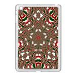 Christmas Kaleidoscope Apple iPad Mini Case (White) Front
