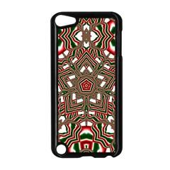 Christmas Kaleidoscope Apple iPod Touch 5 Case (Black)