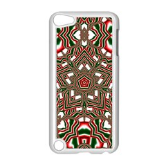 Christmas Kaleidoscope Apple iPod Touch 5 Case (White)