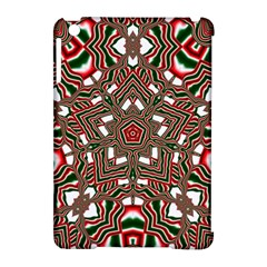 Christmas Kaleidoscope Apple iPad Mini Hardshell Case (Compatible with Smart Cover)