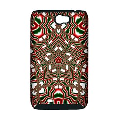 Christmas Kaleidoscope Samsung Galaxy Note 2 Hardshell Case (PC+Silicone)