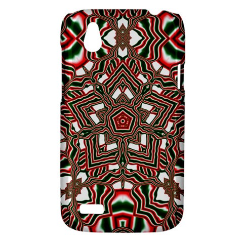 Christmas Kaleidoscope HTC Desire V (T328W) Hardshell Case
