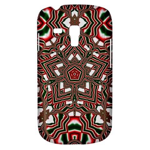 Christmas Kaleidoscope Samsung Galaxy S3 MINI I8190 Hardshell Case