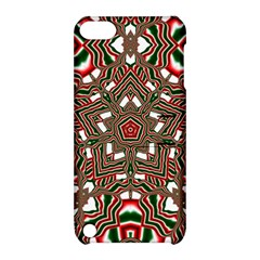 Christmas Kaleidoscope Apple iPod Touch 5 Hardshell Case with Stand