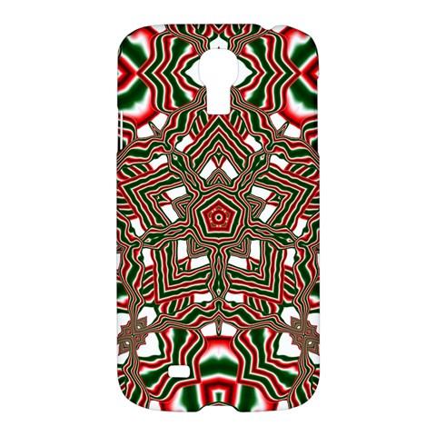 Christmas Kaleidoscope Samsung Galaxy S4 I9500/I9505 Hardshell Case