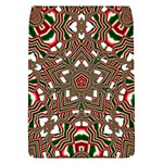Christmas Kaleidoscope Flap Covers (L)  Front