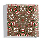 Christmas Kaleidoscope 5  x 5  Acrylic Photo Blocks Front