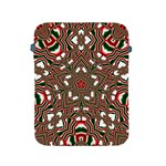 Christmas Kaleidoscope Apple iPad 2/3/4 Protective Soft Cases Front