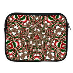 Christmas Kaleidoscope Apple iPad 2/3/4 Zipper Cases