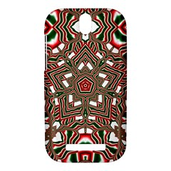 Christmas Kaleidoscope HTC One SV Hardshell Case
