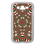 Christmas Kaleidoscope Samsung Galaxy Grand DUOS I9082 Case (White) Front
