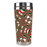 Christmas Kaleidoscope Stainless Steel Travel Tumblers Right