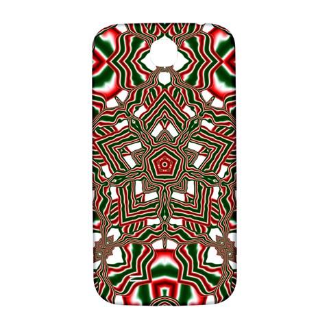 Christmas Kaleidoscope Samsung Galaxy S4 I9500/I9505  Hardshell Back Case