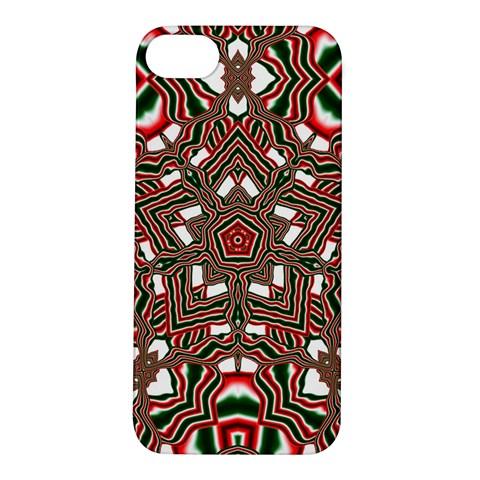Christmas Kaleidoscope Apple iPhone 5S/ SE Hardshell Case