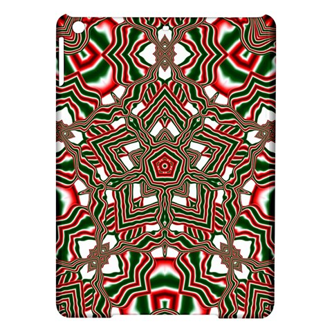 Christmas Kaleidoscope iPad Air Hardshell Cases