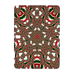 Christmas Kaleidoscope Samsung Galaxy Note 10.1 (P600) Hardshell Case