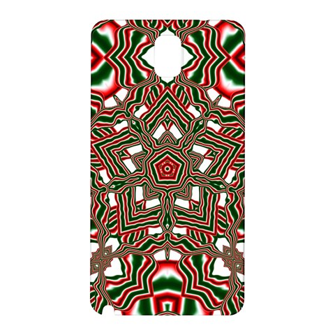 Christmas Kaleidoscope Samsung Galaxy Note 3 N9005 Hardshell Back Case