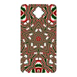 Christmas Kaleidoscope Samsung Galaxy Note 3 N9005 Hardshell Back Case Front