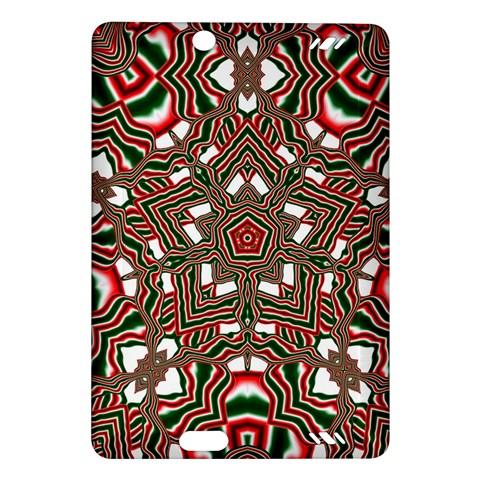 Christmas Kaleidoscope Amazon Kindle Fire HD (2013) Hardshell Case