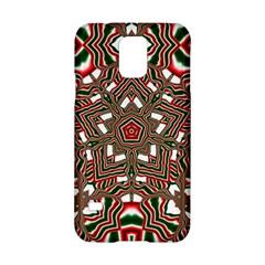 Christmas Kaleidoscope Samsung Galaxy S5 Hardshell Case
