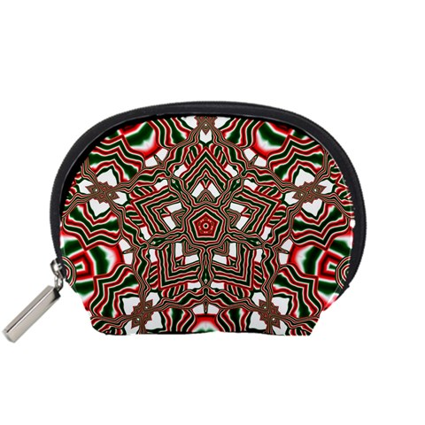 Christmas Kaleidoscope Accessory Pouches (Small)