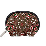 Christmas Kaleidoscope Accessory Pouches (Small)  Front