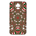 Christmas Kaleidoscope Samsung Galaxy S5 Back Case (White) Front
