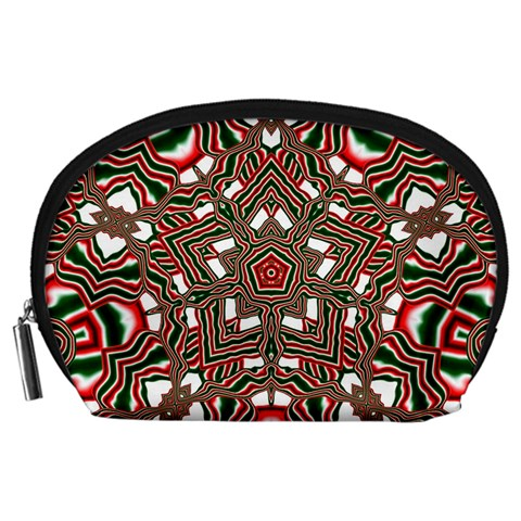 Christmas Kaleidoscope Accessory Pouches (Large)