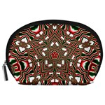 Christmas Kaleidoscope Accessory Pouches (Large)  Front