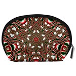 Christmas Kaleidoscope Accessory Pouches (Large)  Back