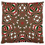 Christmas Kaleidoscope Standard Flano Cushion Case (Two Sides) Front